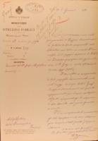 Comunicazione ministeriale della nomina di Arturo Graf a professore straordinario di Storia comparata delle letterature neo-latine a decorrere dall'anno accademico 1879-80.pdf
